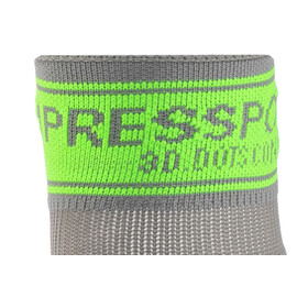 Compressport Racing V2 Trail High Socks Grey/Green